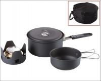 MEVA - Liehový varič + miska + hrniec