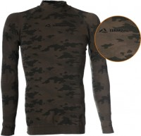 Funkčné tričko s dlhým rukávom SEAM - maskáč