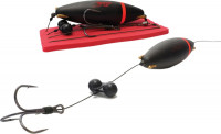 Monster Cat-Trebles with rattel float 100 cm