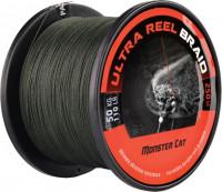 Sumcová šnúra - čierno zelená - Ultra Braid - 250m