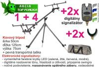 Tripod+ 2x signalizátor+ 2x rohatinka