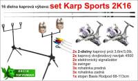 KARP SPORTS 3K16 set, 16 dielna zostava, 2 diel/3,00lb