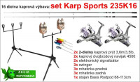 KARP SPORTS 3K16 set, 16 dielna zostava, 2 diel/3,50lb