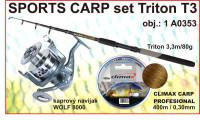 SPORTS CARP SET Triton  3,3m