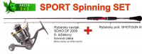 Spinning set SPORTS - 2,4m/25gr + SOHO navijak 2000