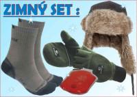 WINTER set SPORTS: čiapka, ponožky, rukavice