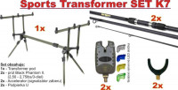 Kaprový set SPORTS Transformer SET K7 stojan a prúty