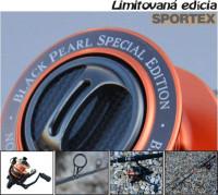 Black Pearl prívlačový set prút + navijak, SPORTEX