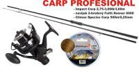 CARP Profesional SET - prút 3,6m / 2,75lbs