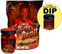 SET - Boilies Dirty Devil + Pop Up 75g + Dip 150ml
