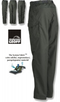 Nohavice ZOON olivovo zelené - Geoff Anderson