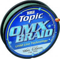 Zebco Topic OMX Braid green 100m