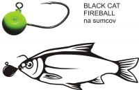 Black Cat Fireball jig - veľký Jig háčik