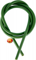 Silikonová hadička - zelená