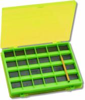 Obojstranný magnetický box na háčiky 14,5x11,5x2cm