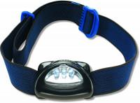 Čelová lampa s tromi LED svetlami - Zebco