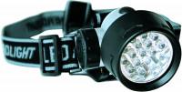 Čelová lampa so sedemnástimi LED žiarovkami - Zebco