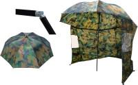 Zebco dáždnik s bočnicou camou, priemer 2,20m
