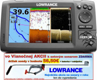 Sonar 4 lúčový Hook-7  Chirp/DSI sonar/GPS