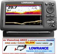 Sonar 4 lúčový Hook-7x  Chirp/DSI sonar