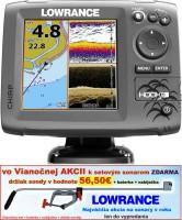 Sonar 4 lúčový Hook-5  Chirp/DSI sonar/GSP