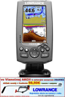 Sonar 4 lúčový Hook-4  Chirp/DSI sonar/GPS