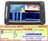 LOWRANCE Elite-9 Ti s dotykovou obrazovkou
