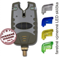 SPORTS Accelerator signalizátor zelená-modrá-žltá-červ.