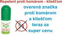Repelent spray 50ml - SZUKU