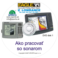 Ako pracovaľ so sonarom - DVD