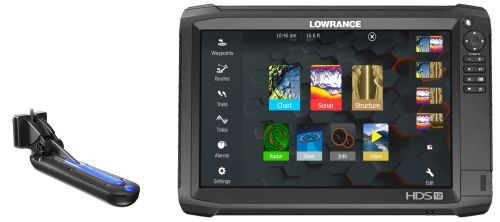 Sonar LOWRANCE HDS12 Carbon + sonda TotalScan
