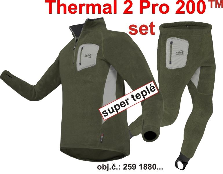 Termoprádlo Set  Thermal 2 PRO 200 - A-Z Rybár - rybárske potreby d75c86ea992