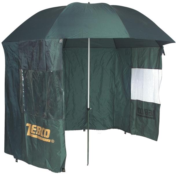 950ddca48 Zebco slnečník / dáždnik s bočnicou - A-Z Rybár - rybárske potreby