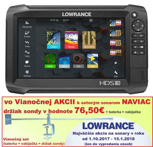 d1d16cf44 Sonar LOWRANCE HDS-9 Carbon - A-Z Rybár - rybárske potreby