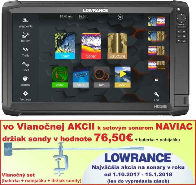 0381fde7f Dotykový sonar LOWRANCE HDS - 16 Carbon - A-Z Rybár - rybárske potreby