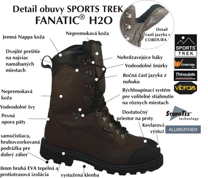 487fb51b8f32b Zimná obuv - FANATIC H2O - Sportstrek - A-Z Rybár - rybárske potreby