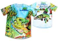 ŠŤUKA - tričko s rybárskym motívom SPORTS