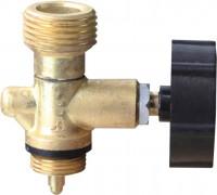 MEVA - Ventil PB-ľavý závit W 21,8