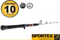 SPORTEX -Turbo Cat Vertical, TC 1808-185cm /150-200g