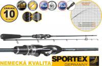 Prívlačové prúty Sportex Graphenon Spin Ultra Light