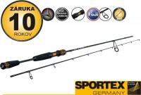 Prívlačové prúty SPORTEX Black Arrow G2 Ultra Light