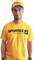 SPORTEX T-Shirt - krátky rukáv - žlté