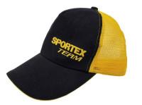 Šiltovka pre rybárov SPORTEX čierno-žltá