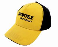 Šiltovka pre rybárov SPORTEX žlto-čierna