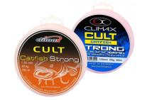 Sumcová šnúra CLIMAX Catfish Strong 280m / hnedá