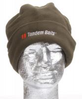 Flisová zimná čiapka s logom Tandem Baits