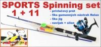 11 dielny spiningový set na dravce