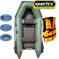 AKCIA Sportex člny Shelf + plávacia vesta