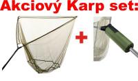 AKCIA - Kaprový podberák + plavák na podberák