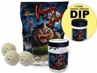 SET - Boilies Vampire Garlic + Pop Up 75g + Dip 150ml